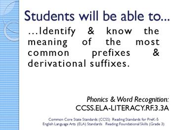 CCSS SWBAT Learning Goals Posters Grade 3 Reading: Foundational Skills ELA