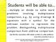 CCSS SWBAT Learning Goals Posters Grade 4 Math: Operations & Algebraic
