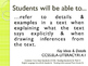 CCSS SWBAT Learning Goals Posters Grade 4 Reading: Informational Text