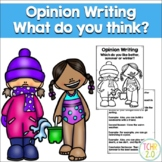Opinion Writing Summer vs. Winter Seasons