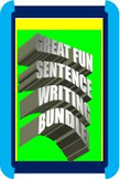 CCSS: Sentence Writing Mastery! A FUN Approach That's Powerful!