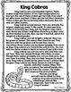 CCSS Snakes Vol. 1 Close Reading Bundle + Text Dependent Q