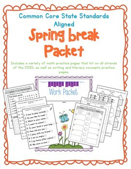 CCSS Spring Break Practice Packet