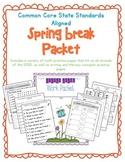 CCSS Spring Break Practice Packet