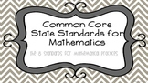 CCSS Standards for Mathematical Practice Poster Set