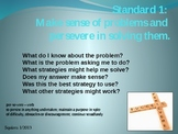 CCSS Standards for Mathematical Practices Posters - Second