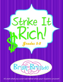 CCSS - Strike It Rich Stock Market Activity from Brain Brigade