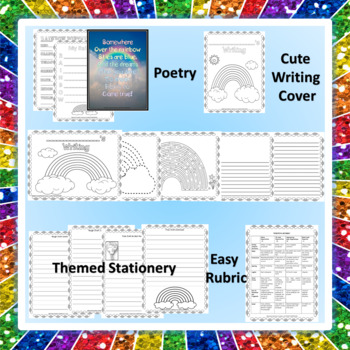 """""""THE RAINBOW"""" BUNDLE TEXT-BASED WRITING ASSIGNMENTS"""
