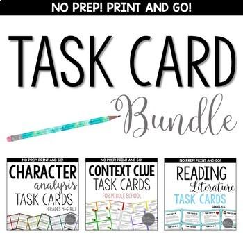 CCSS Task Card BUNDLE for Grades 4-8