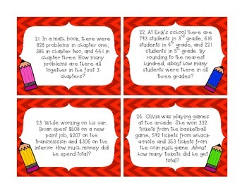CCSS Task Cards for Rounding & Place Value