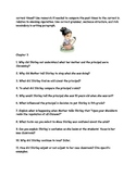 """CCSS Text Based Novel Questions """"In the Year of the Boar and Jackie Robinson"""""""