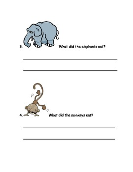 CCSS Text Based Questions, Sammy the Seal