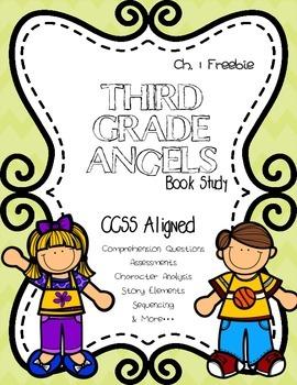 CCSS: Third Grade Angels Book Study Ch. 1 Freebie