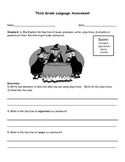CCSS Third Grade Language Assessments
