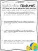 Two Step Word Problems Printables