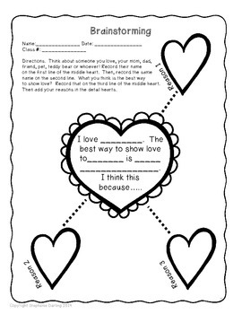 CCSS VALENTINE'S DAY PERSUASIVE WRITING AND CRAFT