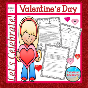 "CCSS ""VALENTINE'S DAY"" TEXT-BASED WRITING ASSIGNMENT"