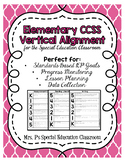 Elementary CCSS Vertical Alignment