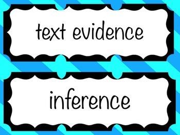 CCSS Vocabulary - Reading Literature