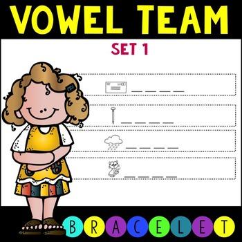 CCSS Vowel Team Bracelets