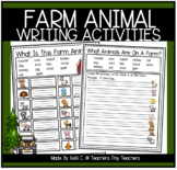 Farm Animal Activities and Cross Curricular Worksheets    Distance Learning