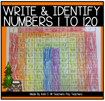 Number Sense to 120- Filling in the Missing Numbers Between 1-120