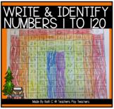 Number Sense to 120- Filling in Missing Numbers Between 1-120