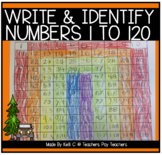 Number Sense Activites That Include Numbers From 1-120