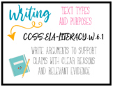 CCSS Writing Standards - 6th Grade