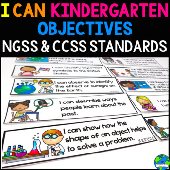 "Objective Bulletin Board CCSS based Daily Targets ""I can s"