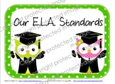 CCSS for ELA With Polka-dots and Owls!