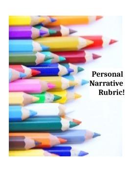 CCSS personal narrative rubric!