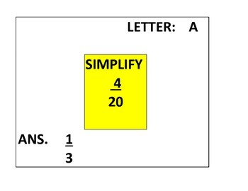 CCSS.6.NS.1 DIFFERENTIATED SCAVENGER HUNT--DIVIDING FRACTIONS AND SIMPLIFYING
