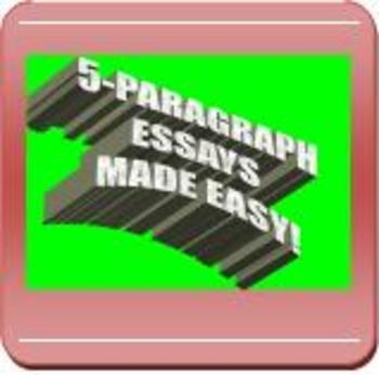 CCSS/PARCC-ALIGNED: 5-Paragraph Essay Outline & Example
