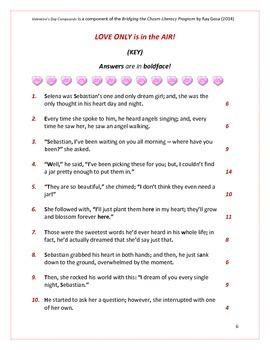 CCSS/PARCC-ALIGNED: Compound Sentences & Valentine's Day!
