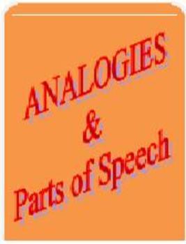 CCSS/PARCC-Aligned Analogies & Parts of Speech!