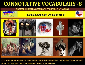 "CCSS/PARCC: Connotative Vocab Unit 8: Designed With ""AP"" Students in Mind!"