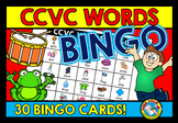 CCVC ACTIVITY, BEGINNING BLENDS GAME (BINGO) KINDERGARTEN WORD WORK