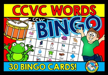 CCVC ACTIVITIES: CCVC WORDS BINGO GAME FOR WHOLE CLASS: CC