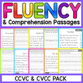 CCVC and CVCC Reading Comprehension Passages | CVCC Worksheets | CVCC Worksheets