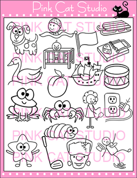 Clip Art CCVC Value Pack - Personal or Commercial Use