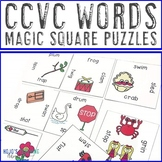 CCVC Words Literacy Center Games, Activities, or Worksheet