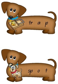 CCVC Spelling Dogs - Puzzles