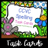 CCVC Spelling Task Cards