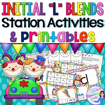 L Blends: Activities and Printables