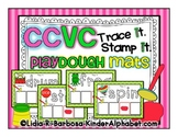 CCVC Trace and Stamp Playdough Mats