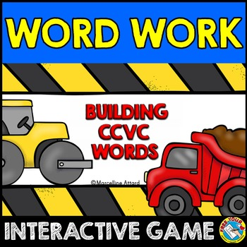 CCVC WORDS INTERACTIVE GAME: BUILDING CCVC WORDS GAMES: CC