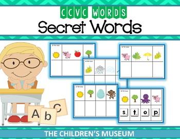 CCVC WORDS - SECRET WORDS