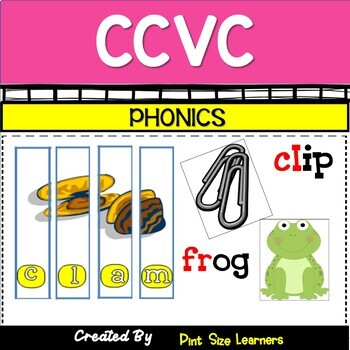 CCVC Word Activities K and 1