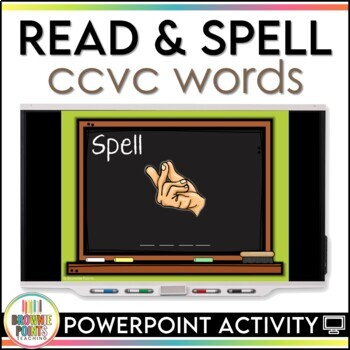 CCVC Words - Blends and Digraphs